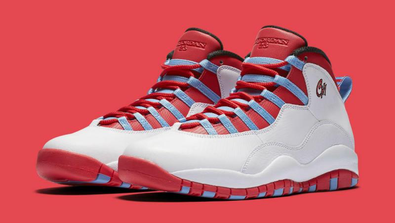 3d2f03da50bd Air Jordan 10 Chicago Flag 310805-114 (1)