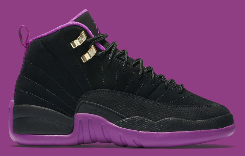 new styles e90f4 34e6d Air Jordan 12 GG Black Purple | Sole Collector