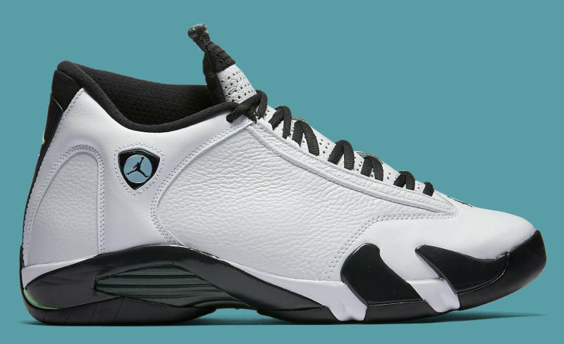 fc24f6ca0d19 Air Jordan XIV 14 Oxidized Green 487471-106 (2)