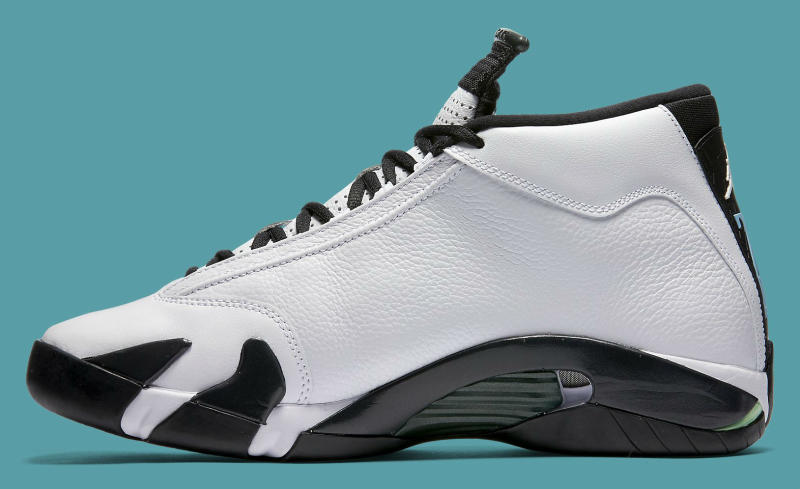 9491e73aa61c Air Jordan XIV 14 Oxidized Green 487471-106 (3)