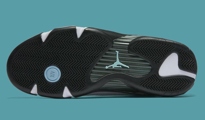 b81833ef5ab124 Air Jordan XIV 14 Oxidized Green 487471-106 (4)