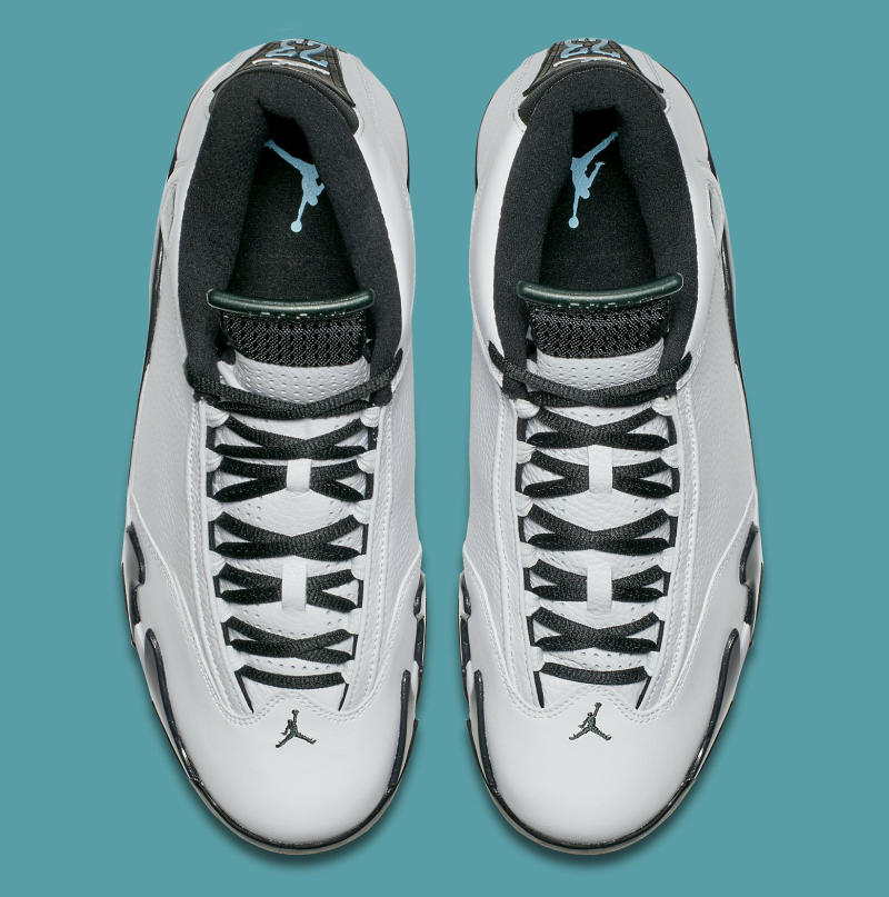 Air Jordan XIV 14 Oxidized Green 487471-106 (5)
