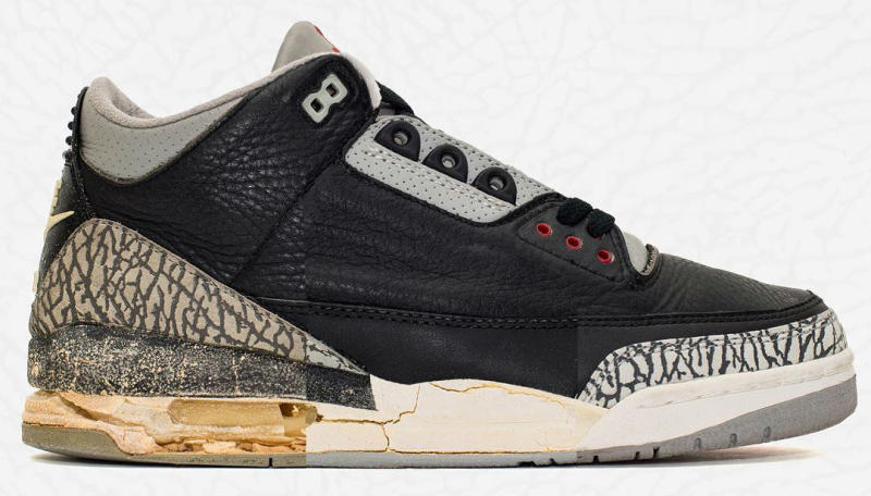 official photos 9cafd 7d4ca Air Jordan 3 Aged