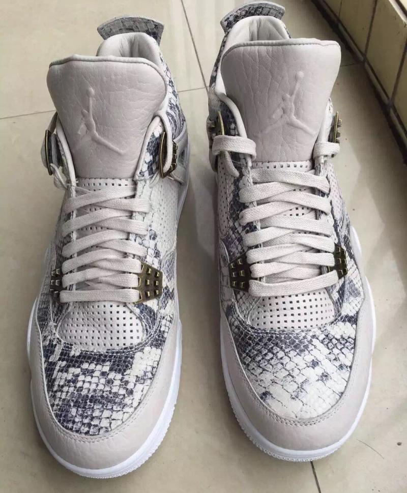 Air Jordan 4 Premium Quot Snakeskin Quot Sole Collector