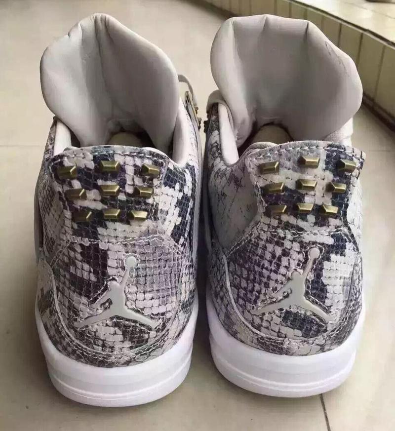 bb0a8cda8128 Air Jordan 4 Premium Snakeskin (5)