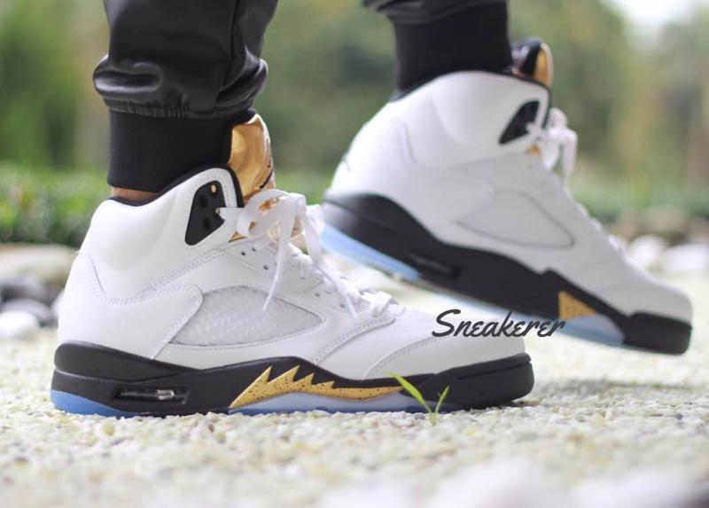 Air Jordan 5 Goin Coin Olympic Release Date 136027-133 (2)
