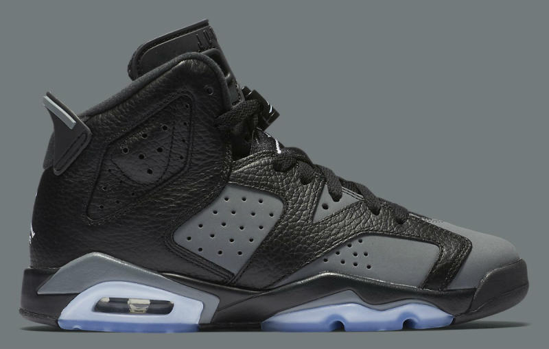 Air Jordan 6 Black And Grey