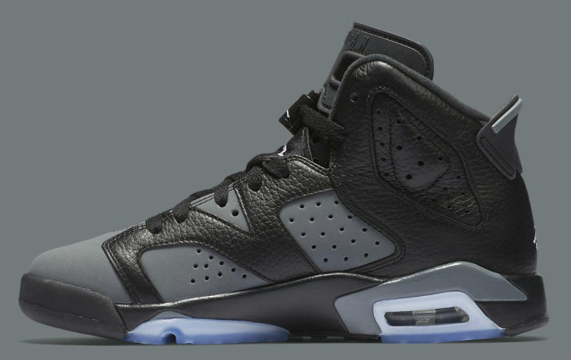 "Air Jordan 6 GS ""Cool Grey"" 384665-010 (3)"