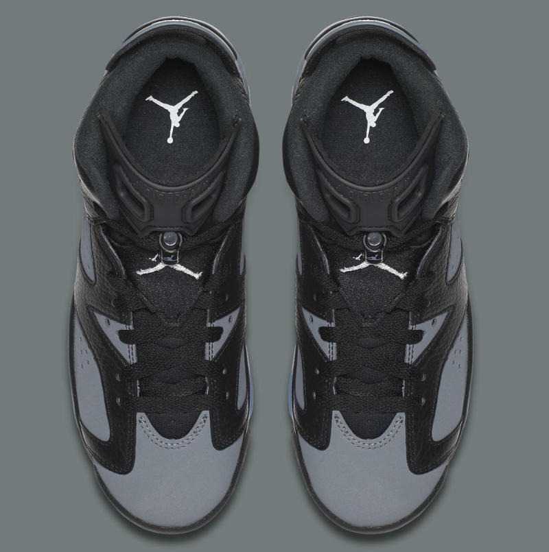 "Air Jordan 6 GS ""Cool Grey"" 384665-010 (5)"