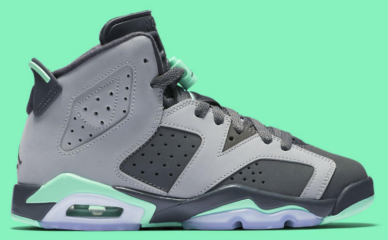 san francisco f2f52 71387 Air Jordan 6 GG Green Glow 543390-005 (2)
