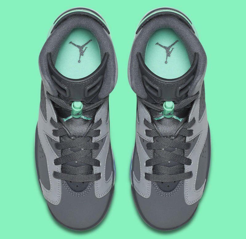 the best attitude 759d0 49016 Air Jordan 6 GG Green Glow 543390-005 (5)
