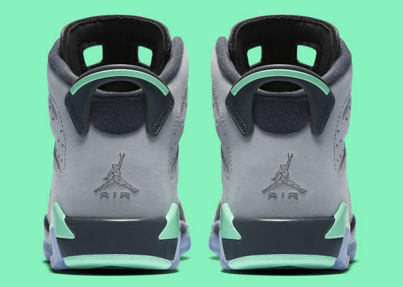 new arrival 0aa51 11675 Air Jordan 6 GG Green Glow 543390-005 (6)