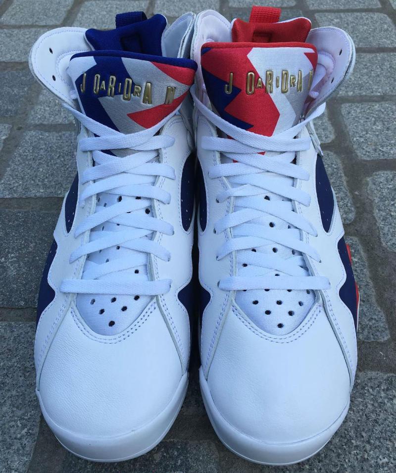 7a57c4611b47a9 Air Jordan 7 Olympic