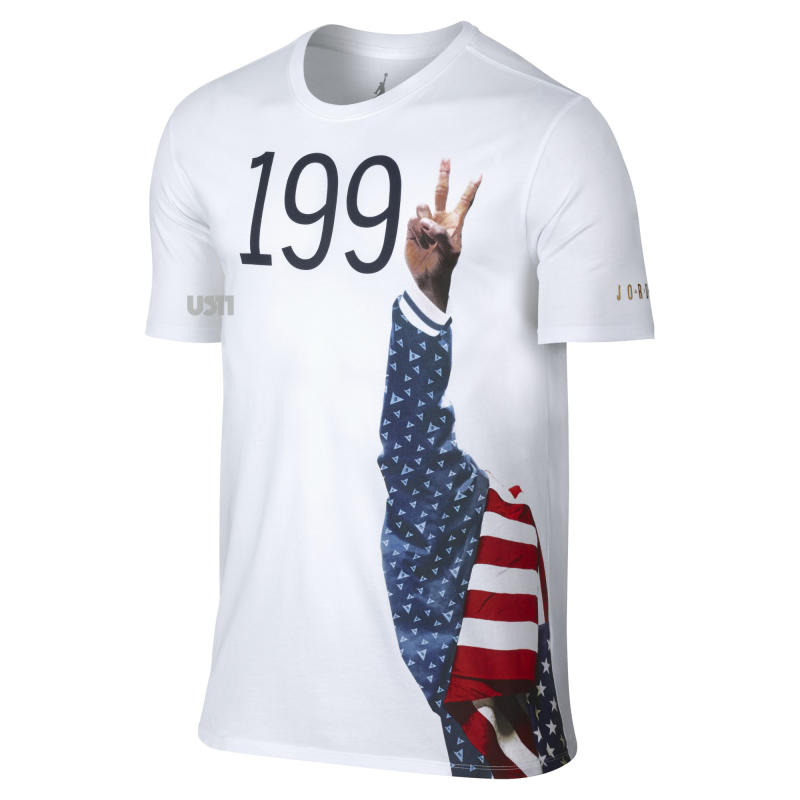 98c86afdd0571f Air Jordan Dream Team Tinker Alternate T-Shirts