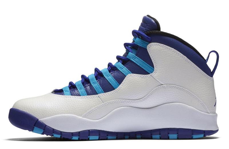 blue and black jordan 10