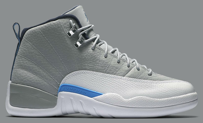 d8c8eaf692b3 ... germany air jordan 12 grey university blue white sole collector d07cc  c1bb0