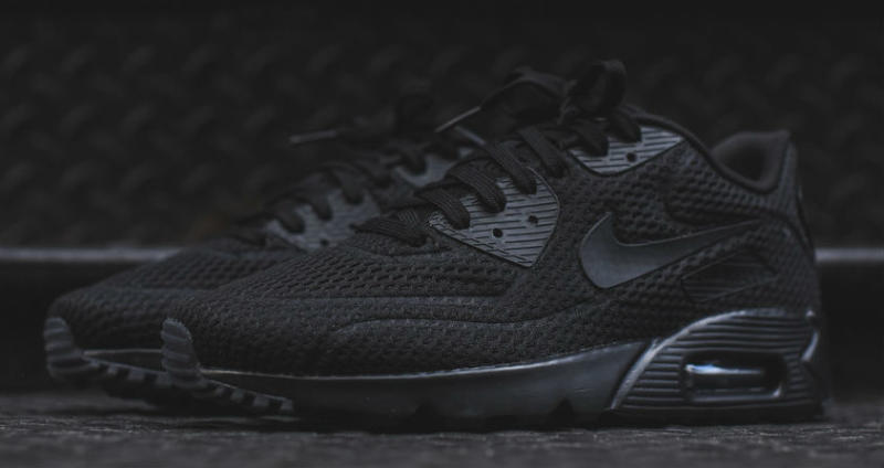 wholesale dealer 02fea 21ad4 Nike Air Max 90 Ultra BR Black 725222-010 (2)