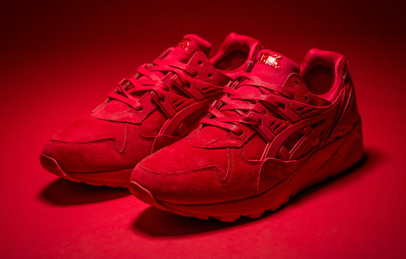 asics red sneakers