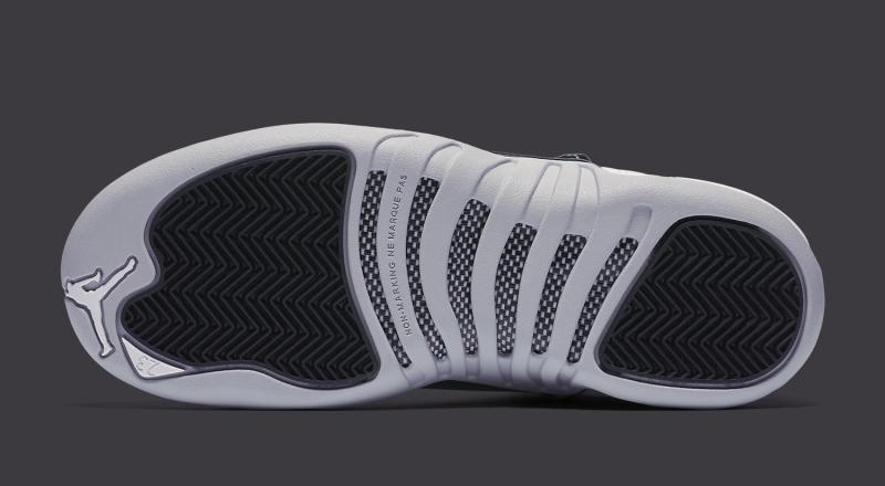 1af11bcade3f99 Air Jordan XII 12 White Grey-Black