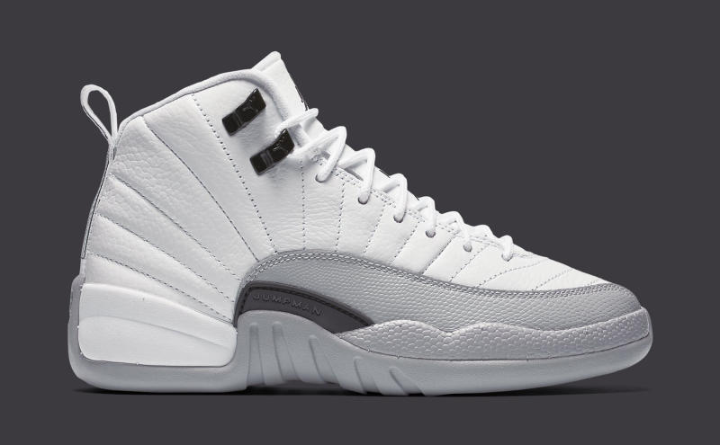 new concept 2073d afd96 Air Jordan XII 12 White/Grey-Black | Sole Collector