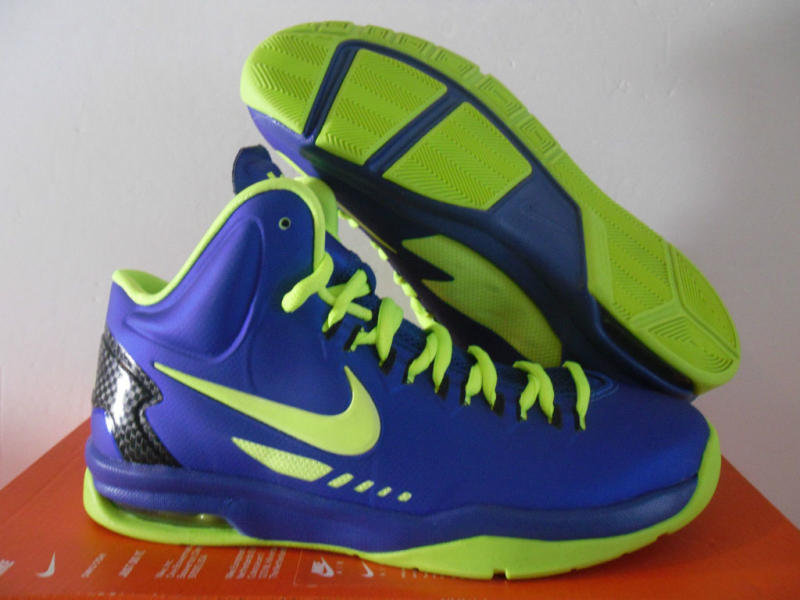 blue and green kd shoes