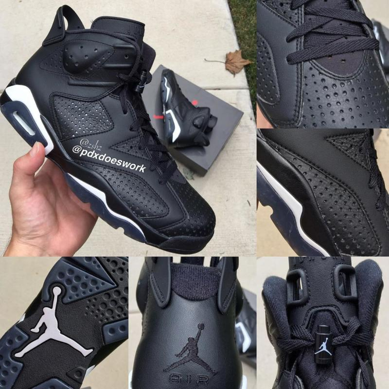 9e0baafba56b Air Jordan 6 Black Cat Release Date 384664-020
