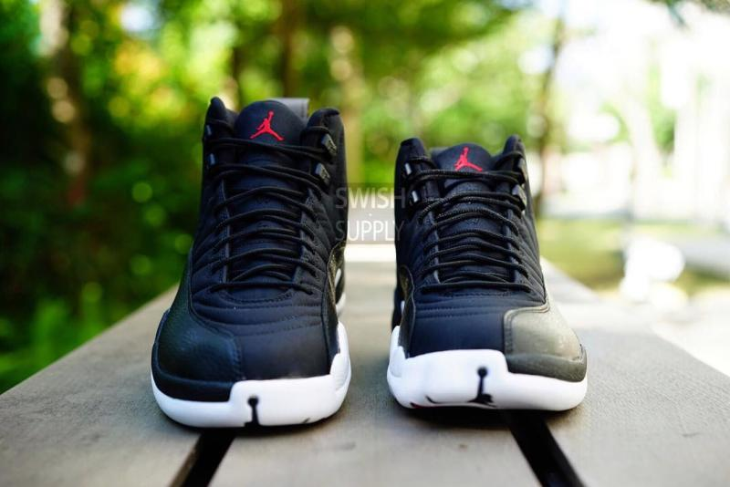 Air Jordan XII 12 Black Nylon Release Date 130690-004 (2)