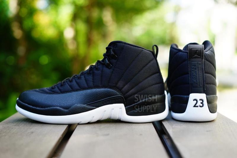 Air Jordan XII 12 Black Nylon Release Date 130690-004 (6)