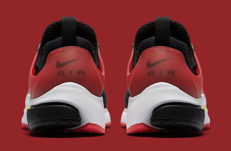 nike air presto black red