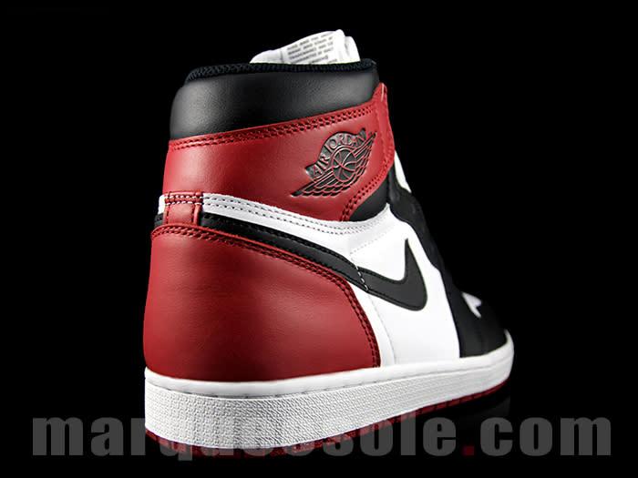 super popular c87c0 d72e2 Black Toe Air Jordan 1 2016 | Complex