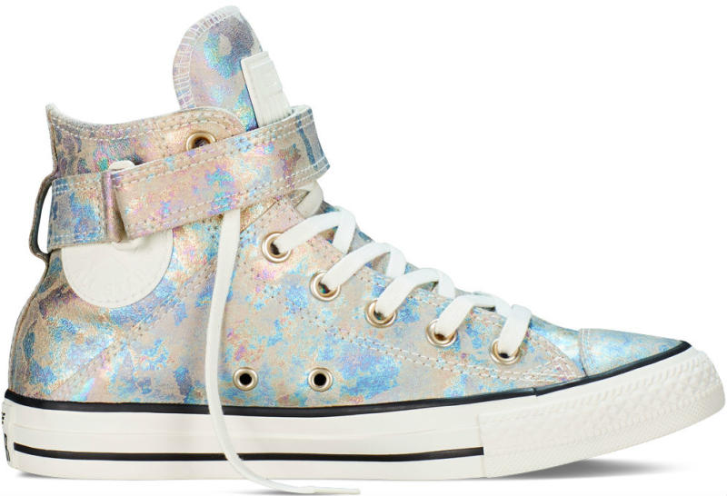 8a24d3167d9d Converse Chuck Taylor All Star Brea Iridescent Leather White