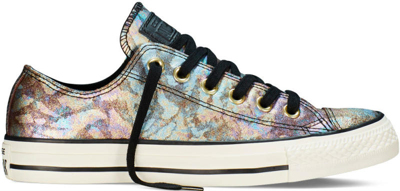 42450813e24b Converse Chuck Taylor All Star Low Iridescent Leather White