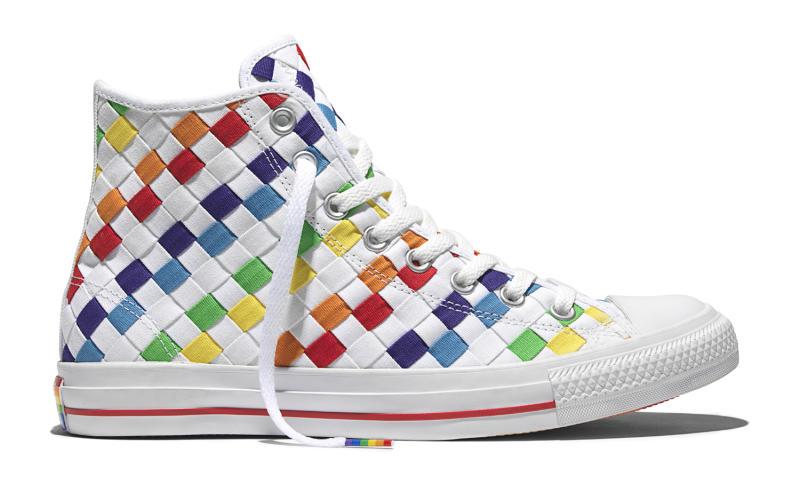 98ba65394f9b Converse Pride LGBTA Rainbow Sneakers