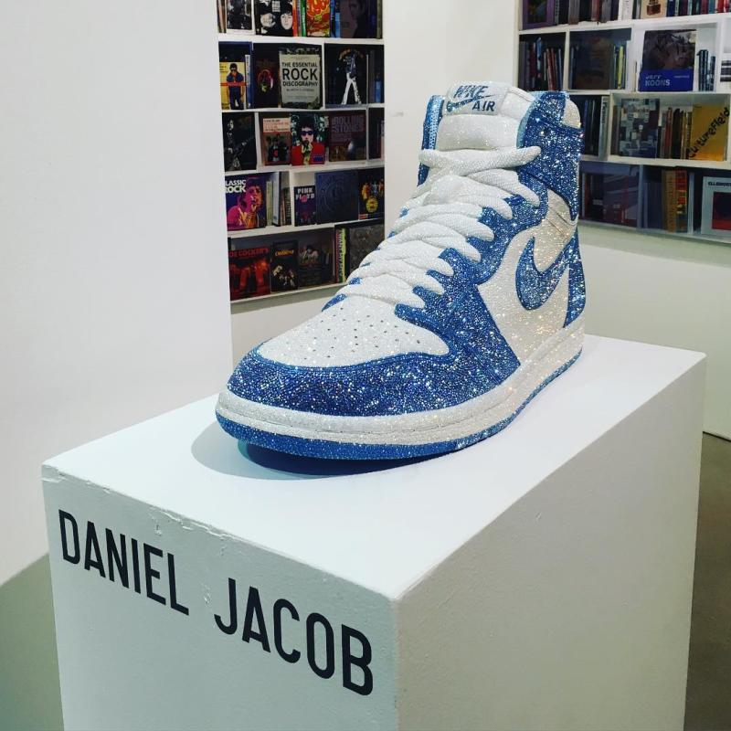 UNC Crystal Air Jordan 1 by Daniel Jacob (1)