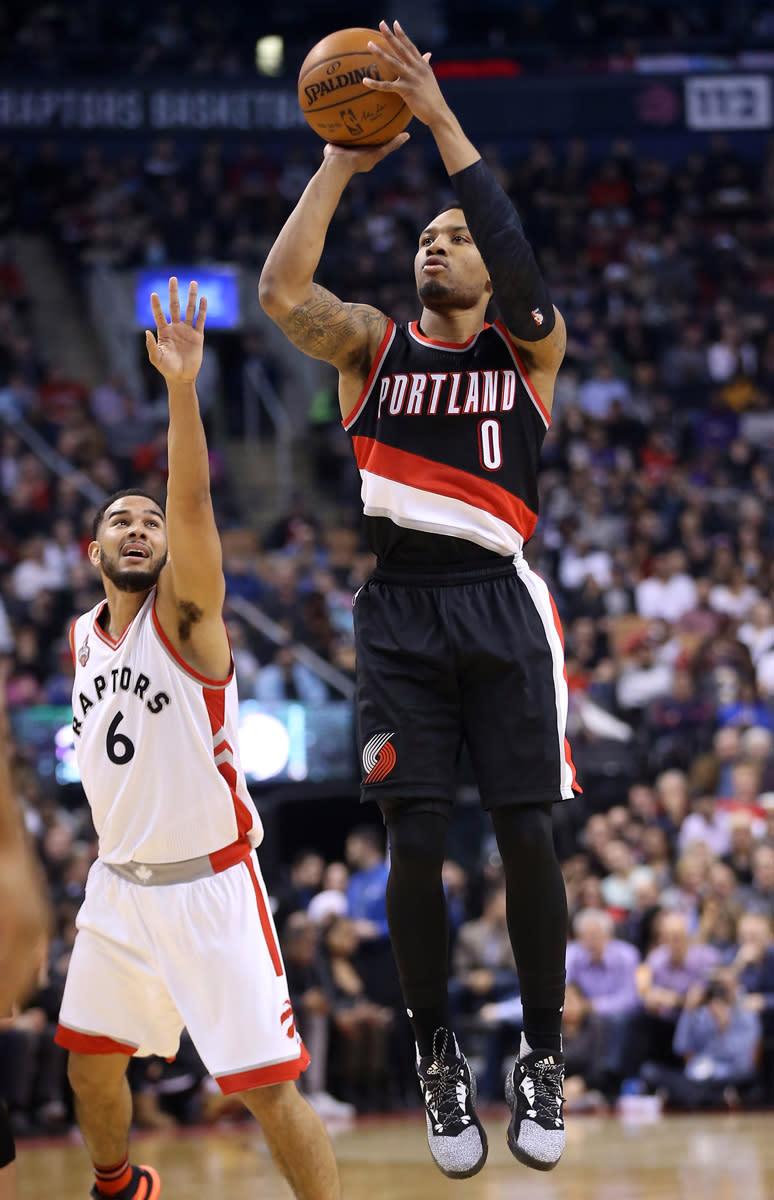 Dame Lillard Scores 50 Points in the
