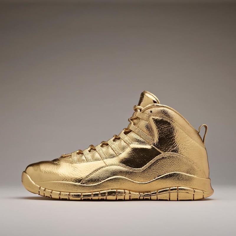 Drake Gold Air Jordan 10 | Sole Collector