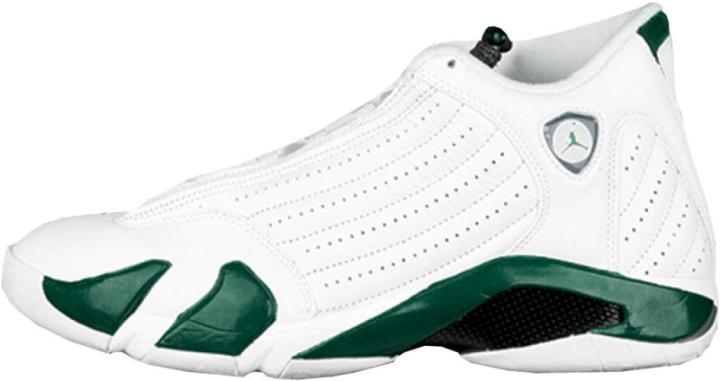sports shoes fd98d b30d2 Air Jordan 14 Retro  Forest  Style Code  311832-131. Colorway  White Deep  Forest-Light Graphite Release Date  10 22 2005