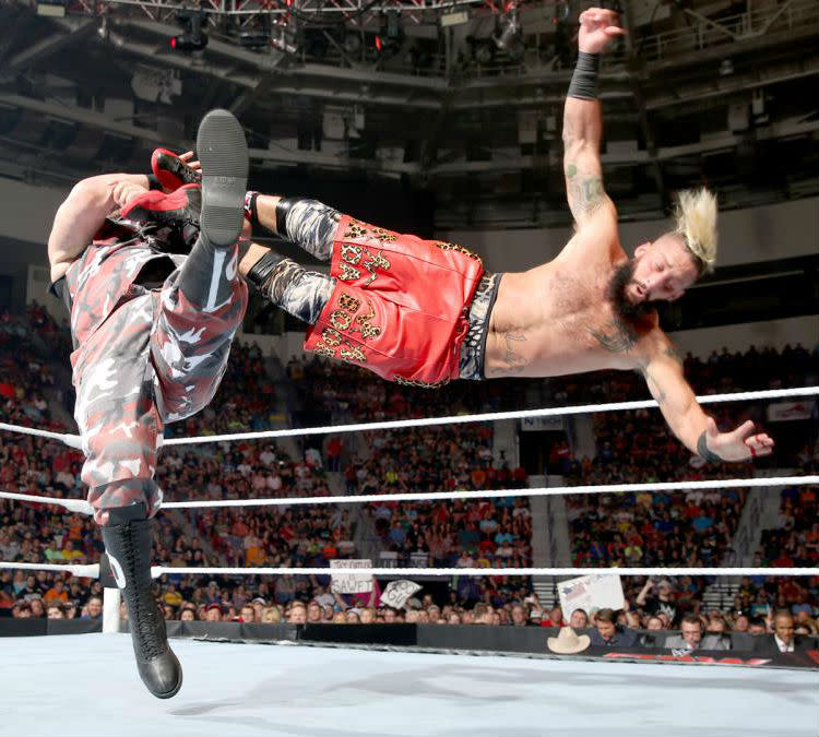 Enzo Amore Wearing The Flu Game Air Jordan 12 Sole Collector