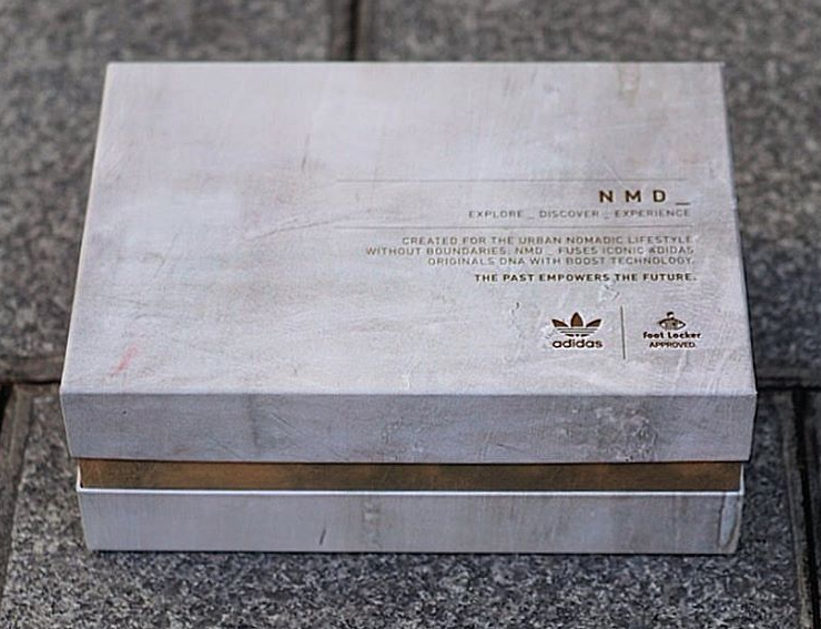 Original Adidas Nmd Shoe Box