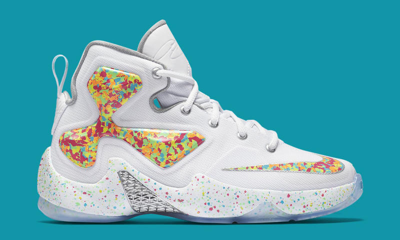 81c0bd2a292c These Cereal-Flavored LeBron James Sneakers Are Available Now. The Fruity  Pebbles ...