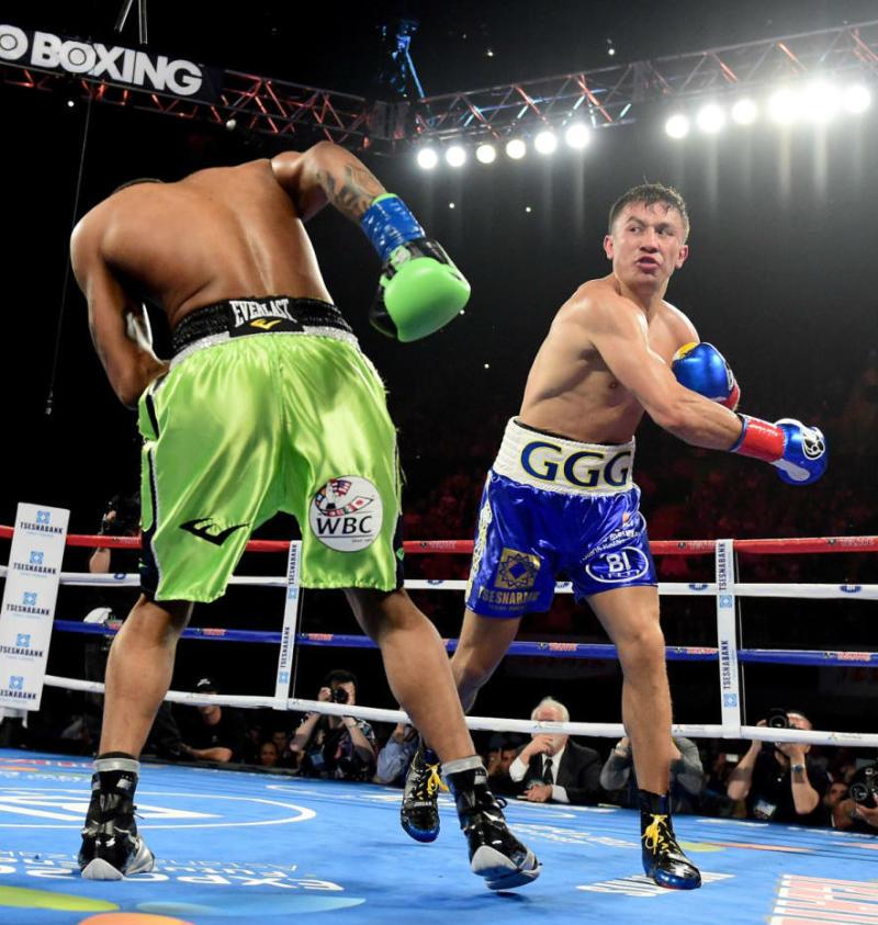 Gennady Golovkin Jordan Boxing Boots