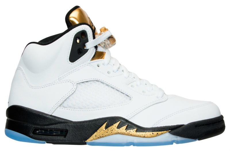 Air Jordan 5 Gold Coin Olympic Release Date 136027-133 (2)