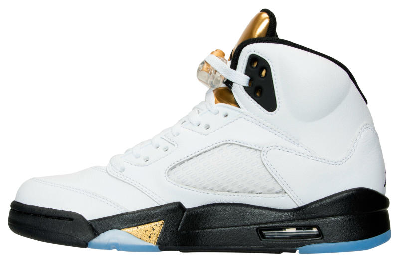 save off f5e1e e8ad1 Air Jordan 5 Gold Coin Olympic Release Date 136027-133 (2)