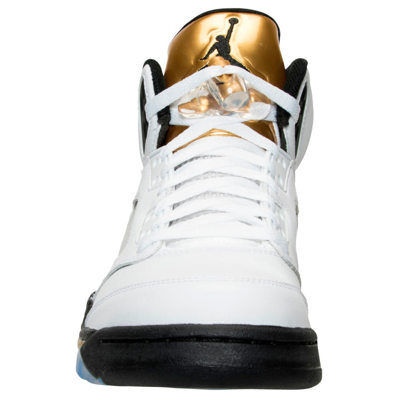 edd6962e599 get mens nike air jordan retro 5 gold coin white gold black 136027 a246f  76236; sweden air jordan 5 gold coin olympic release date 136027 133 4  d186c 02e5b