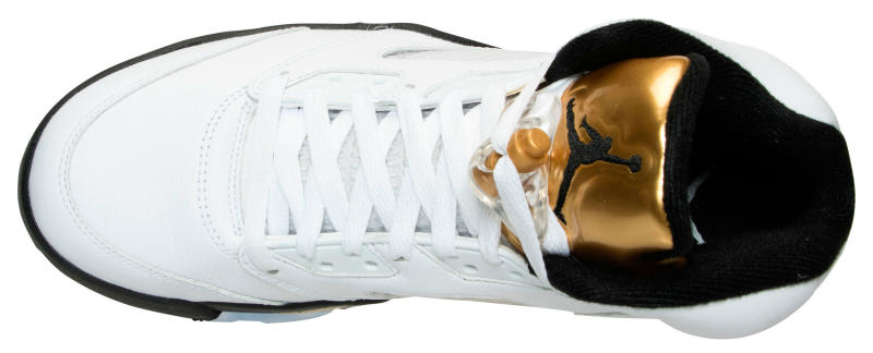 Air Jordan 5 Gold Coin Olympic Release Date 136027-133 (6)