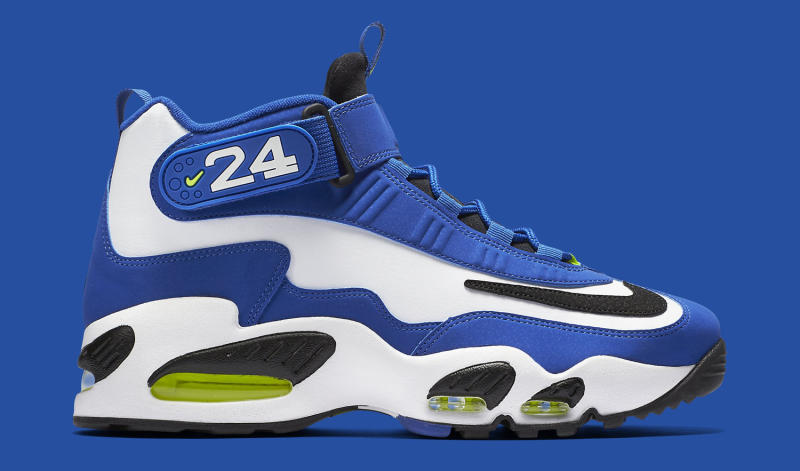 new product d6c6d 30d11 Nike Air Griffey Max 1. Color  Varsity Royal Black-White-Volt Style     354912-400. Price   150