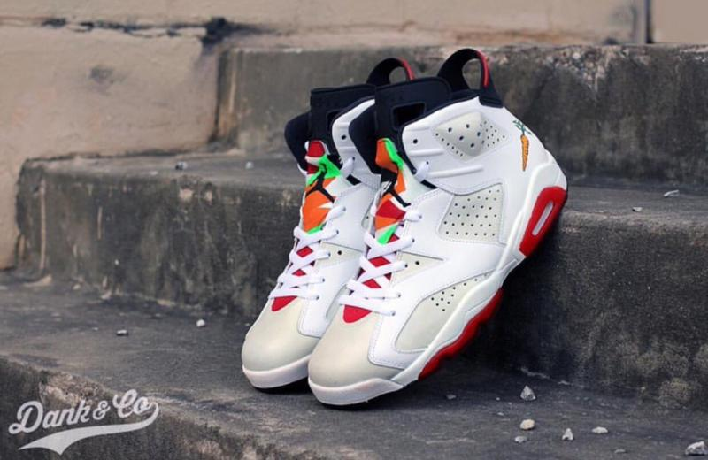 Quot Hare Quot Air Jordan 6 Custom By Dank Sole Collector