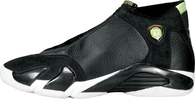 Air Jordan XIV  Indiglo  Colorway  Black Black-White-Indiglo Release Date   06 12 1999. Original Price   150. Average Resell Value   375 3eebf5be4