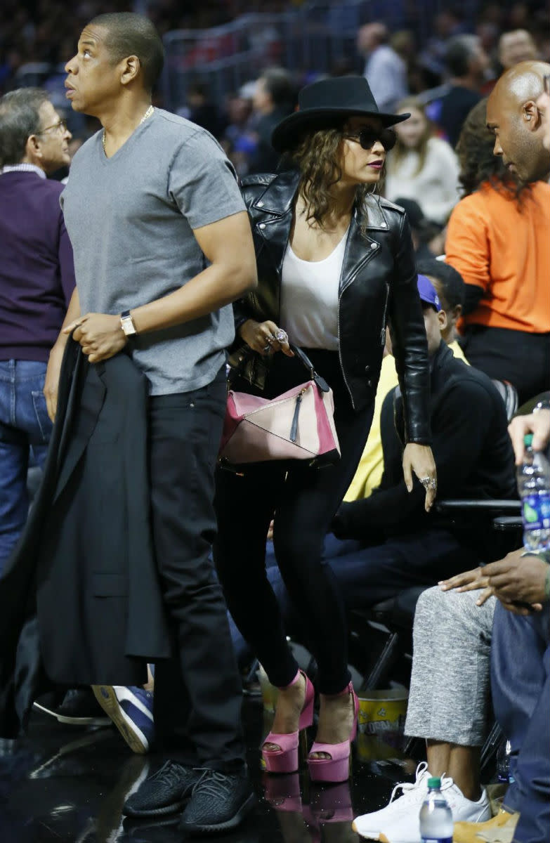 Jay Z Wears Adidas Yeezy Boosts Sole Collector