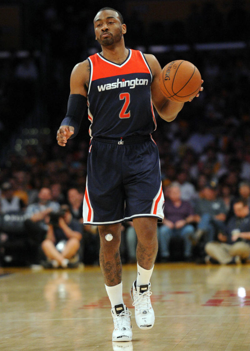 John Wall Wearing the